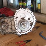 Transfer Case Regearing - Frontside